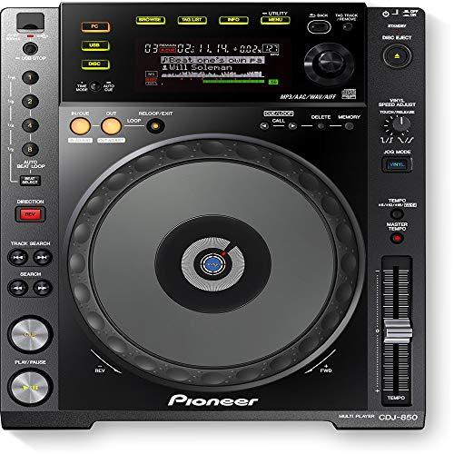 Multi Player Digital CDJ 850-K Black Pioneer