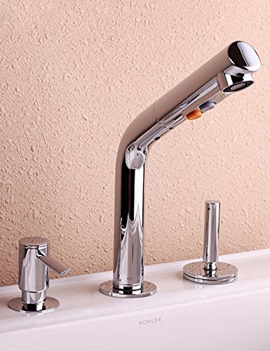 SJQKA-Faucet Pull type faucet, face basin, hot and cold water tap, soap dispenser by SJQKA