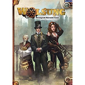 Wolsung Steampunk Skirmish Rulebook by Micro Art Studios