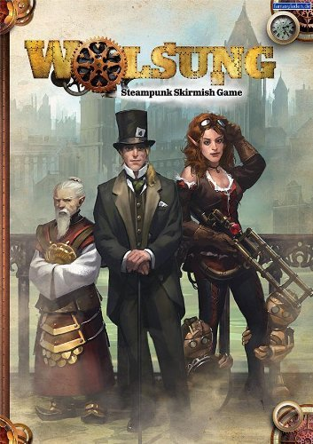 Wolsung Steampunk Skirmish Rulebook by Micro Art Studios 3