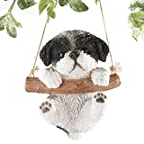 Collections Etc Hang Around Pets Tree Decoration, Shih Tzu