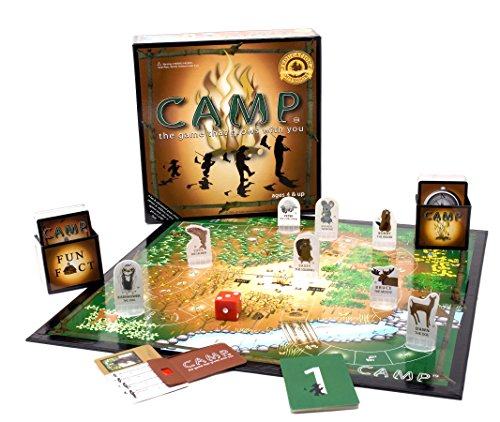 Camp Board Game (Cardboard Camp)