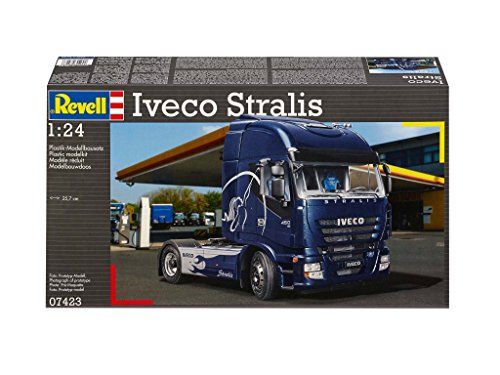 Iveco the best amazon price in savemoney revell iveco stralis truck plastic model kit fandeluxe Choice Image