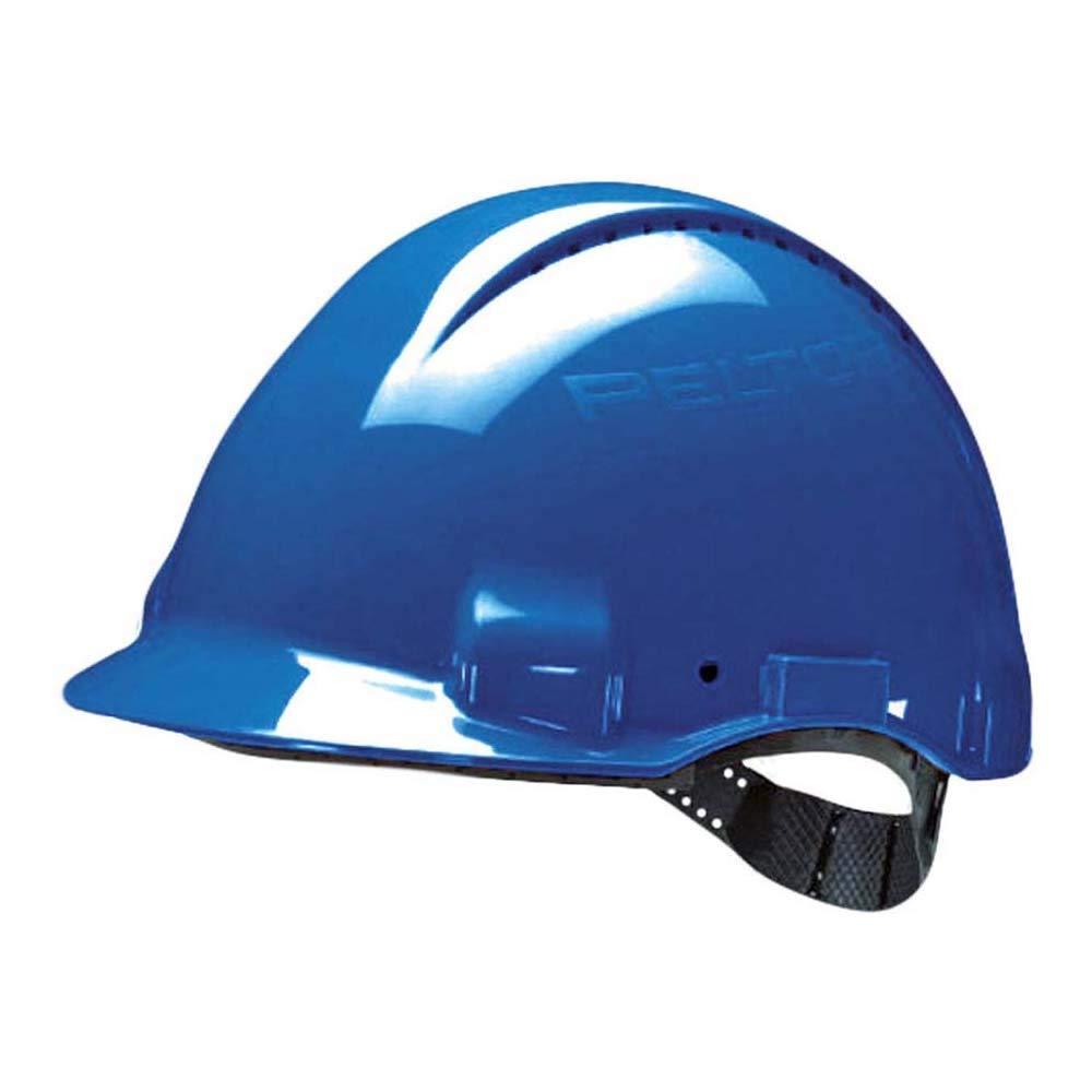 G3000CUV-OR arancio con Uvicator 3M/™ Elmetto di protezione G3000 ventilato senza cricchetto e fascia antisudore in plastica