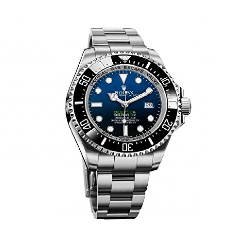 Rolex Deepsea Deep Blue Dial Stainless Steel Mens Watch 116660BLSO