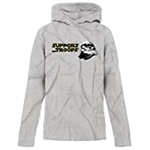 BSW YOUTH Support Our Troops Army Star Wars Storm Trooper Premium Hoodie