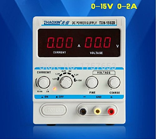 TXN-1502D Digital Precision Variable Adjustable Switching Power Supply 15V 2A by K Y (Image #6)