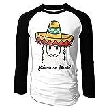 Puppylol Men's ¿CóMO SE Llama Long Sleeve Raglan T-Shirts
