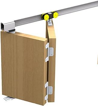 Mantion – Herraje para Tango 40 – 99 PARA 1 puerta plegable plegable Puerta Corredera hasta 99 cm: Amazon.es: Bricolaje y herramientas