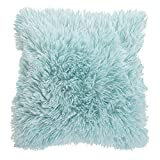Supersoft Doux Cushion Cover (Cushion Pad Not Included) (17 x 17 ins) (Blue)