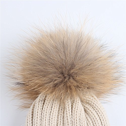FURTALK Kids Winter Pom Pom Hat - Knitted Beanie Hats for Children Girls Boys Original by FURTALK (Image #3)