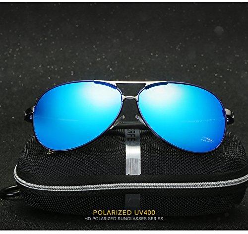para Mujer Polarizadas UV De Hombre Gafas C3 C2 Sol para Protección Aviator 400 CwYUfXq