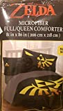 Legend of Zelda Link Triforce Comforter Full Queen Size