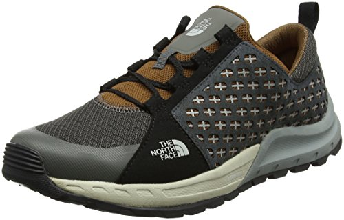The North Face Herren Mountain Sneaker Trekking-& Wanderhalbschuhe Mehrfarbig (Graphite Grey/tagumi Brown)