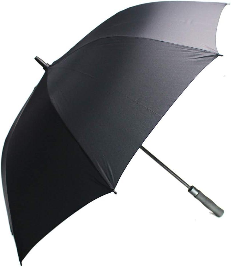 YOUYOUCOLORFUL Paraguas Personalizado – Diseño Logo Pack 100 Sombrilla de Golf Grande 62 Pulgadas Resistente al Viento Impermeable – Abierto automático – portátil – para Hombres y Mujeres
