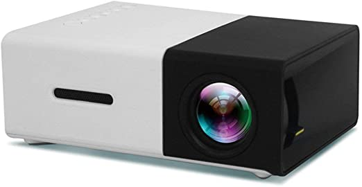LouiseEvel215 Mini proyector de Bolsillo portátil Universal 3D HD ...