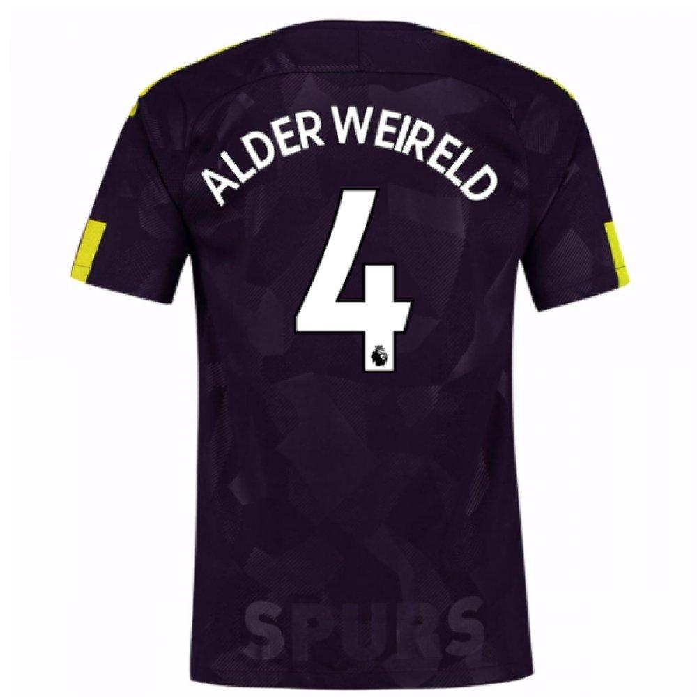 2017-18 Tottenham Third Football Soccer T-Shirt Trikot (Toby Alderweireld 4)