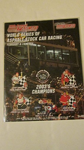 38th-annual-fascar-world-series-of-asphalt-stock-car-racing-february-2004-souvenir-program-paperback