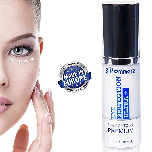 Le Pommiere Eye contour cream 1.1 fl oz. Anti bags, dark circles wrinkles. Anti-age to attenuate expression lines. Anti-wrinkle Vitamin E, elastin Panthenol