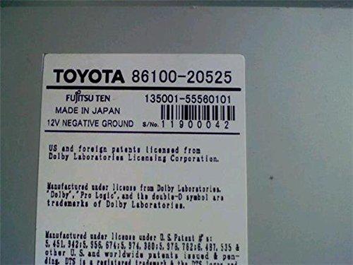 トヨタ 純正 プレミオ T260系 《 ZRT260 》 マルチモニター P31200-18004223 B07D6D3TLQ