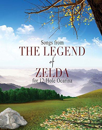 Legend of Zelda Songbook for 12 Hole Ocarinas -