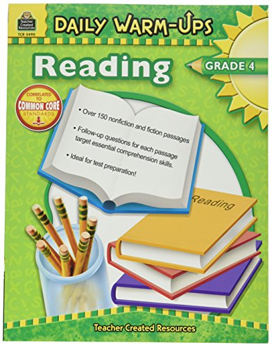 Teacher Created Resources 3490 Daily Warm-Ups Book, Reading,
