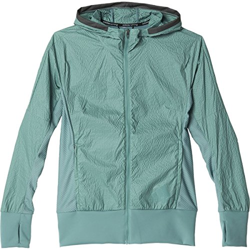 Adidas Womens Pure Amplify Running Jacket XL Vapour Steel