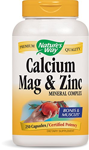Nature's Way Calcium, Magnesium and Zinc 250 Capsules