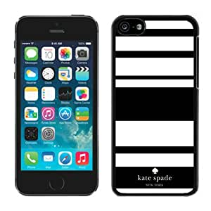 Popular Customize iPhone 5C Phone Case Kate Spade New York Unique Cover Case For iPhone 5C 3 Black