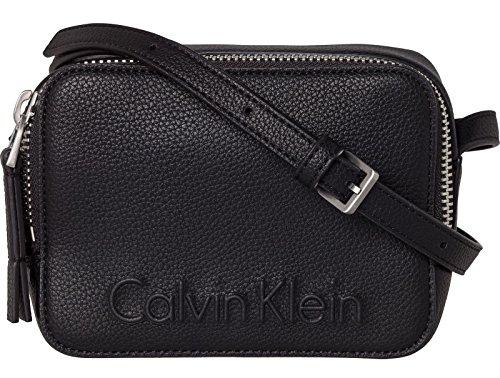 Noir Noir Calvin Femme Zip Edge Handbag Klein qHwgv0w1