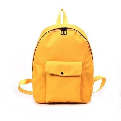 ❤️ Sunbona Schoolbag Adult Backpack Teenage Girls Bogs School Backpack Bag Solid Pocket Students BagsShoulder School Bag | Kids\' Backpacks [5Bkhe1102627]