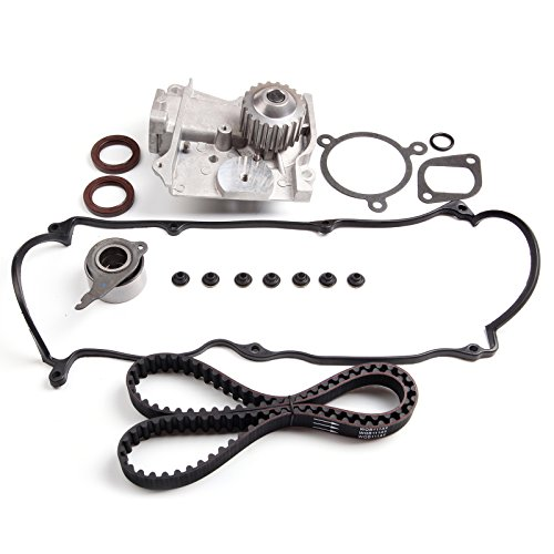 SCITOO For 86-87 Mazda 626 2.0L 1998CC Timing Belt Kit Water Pump Valve Cover SOHC