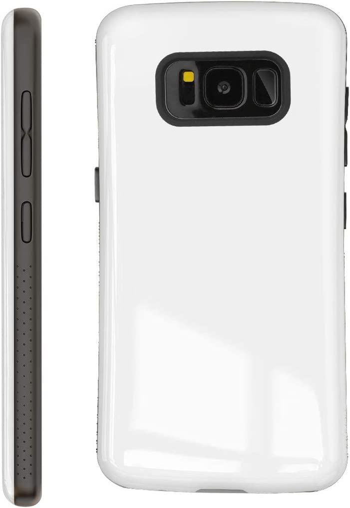 Nicexx Samsung Galaxy S8 Plus Case | Premium Luxury Design | Military Grade 15ft. Drop Tested | Wireless Charging | Wireless Charging | Compatible with Samsung Galaxy S8 Plus - White