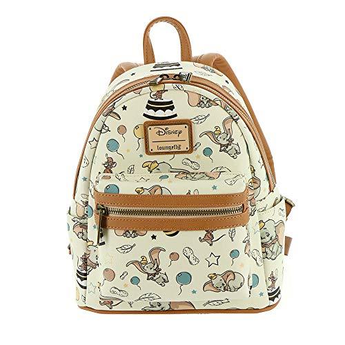 [해외]라운지 플라이 x 디즈니 덤보 빈티지 미니 백팩 / Loungefly x Disney Dumbo Vintage Mini Backpack