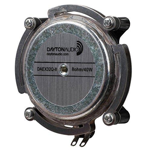 Dayton Audio DAEX32Q-8 Dual Steel Spring Balanced 32mm Exciter 20W 8 Ohm by Dayton Audio
