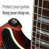 Guitar Savers Premium Strap Locks (2 Pair) - Red & Black