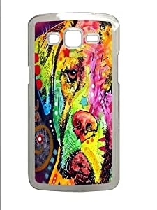 mastiff PC Case Cover for Samsung Grand 2 and Samsung Grand 7106 Transparent