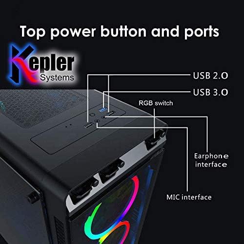 GAMING PC DESKTOP COMPUTER SUPER AURA DESIGN I5 3.30GHZ 2500, 8GB DDR3 RAM, GEFORCE GTX 750 2GB GRAPHIC, 500GB SSD DRIVE, 550W POWER, WIFI READY