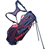 Cheap Dbot5 Sound Buddah Golf Stand Bag, Black/Red