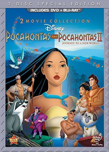 Pocahontas Two-Movie Special Edition (Pocahontas / Pocahontas II: Journey To A New World) (Three-Disc Blu-ray/DVD Combo in DVD Packaging) by Walt Disney Video