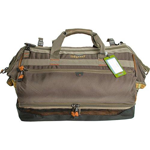Fishpond Cimarron 24.5 Wader Duffel Bag and Backpack Stone
