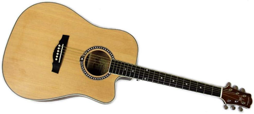 Boll-ATur De 40 pulgadas guitarra acústica Cutaway, Ingman abeto y caoba lados, con kit de principiante, recorrido al aire libre de la guitarra