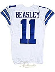 Cole Beasley Game Worn Dallas Cowboys Jersey From 11/13/2016 vs the Pittsburgh Steelers ~ Limitied Edition 1/1 ~ - Panini Authentic - Panini Certified
