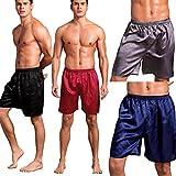 SexyTown Mens 4-Pack Boxer Brief Shorts Underwear Anniversary Gifts for Men Medium 4-Pack,Medium(Waist 27''-32'')