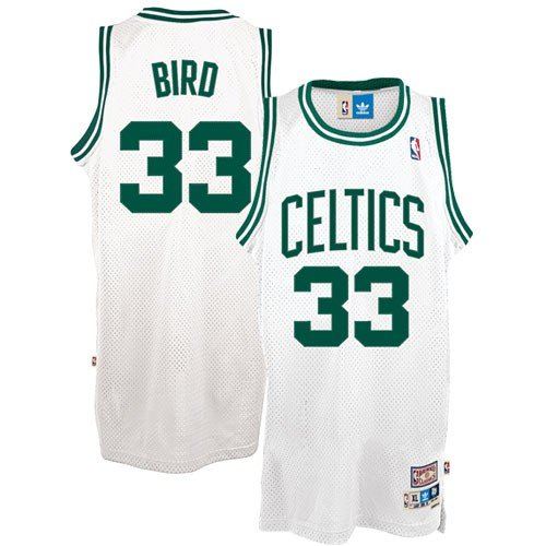 NBA Boston Celtics Larry Bird Swingman Jersey, White, X-Large (Boston Celtics Classics Flat)