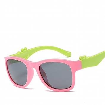 Los Niños Polarizados Niños de Dibujos Animados Gafas de Moda Tendencia Gafas de Sol Sombrilla ,