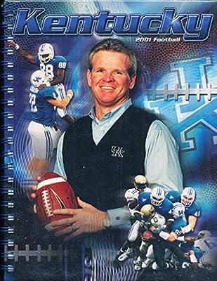 2001 University of Kentucky Football Media Guide bx111