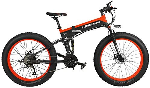 T750Plus 27 Speed 26*4.0 Fat bicicleta eléctrica plegable 1000W ...