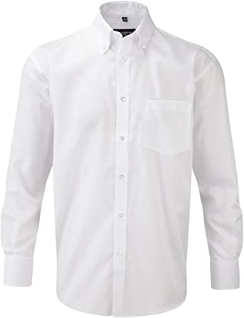 Camisas SIN PLANCHA NON IRON Russell Collection Blanca Talla L (41 ...