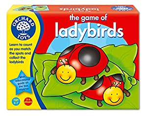 The Game of Ladybirds Board Game
